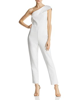 Adrianna Papell - One-Shoulder Jumpsuit