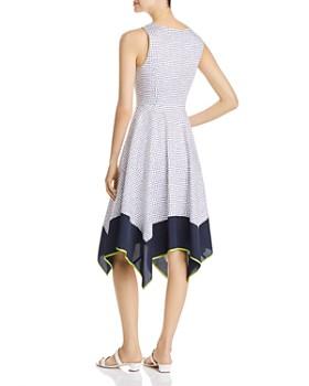 7ea996a67937 ... Donna Karan - Sleeveless Dot-Print Dress