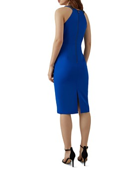 KAREN MILLEN - Embellished-Strap Sheath Dress