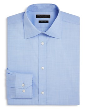 The Men's Store at Bloomingdale's - Micro Houndstooth Regular Fit Dress Shirt