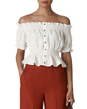 e9619ca80 Whistles Women's Tops: Graphic Tees, T-Shirts & More - Bloomingdale's