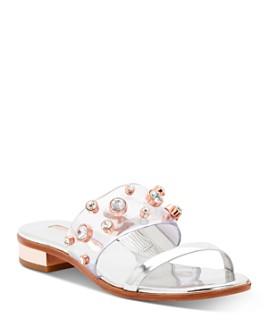 Sophia Webster - Women's Dina Gem Low-Heel Slide Sandals