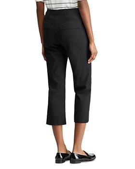 Ralph Lauren - Straight-Leg Cropped Pants