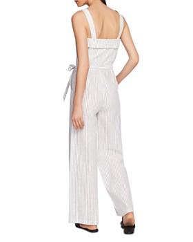 1.STATE - Sleeveless Striped Jumpsuit