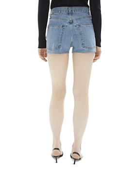 Helmut Lang - High-Rise Denim Shorts