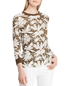 Ralph Lauren - Botanical-Print Sweater