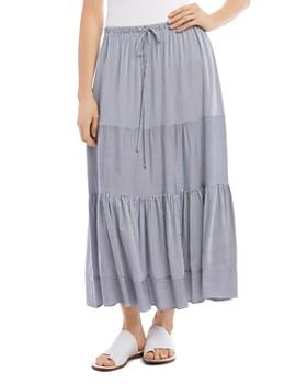 Karen Kane - Tiered Striped Skirt