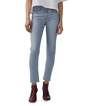 AGOLDE - Toni High-Rise Slim Jeans in Daylight