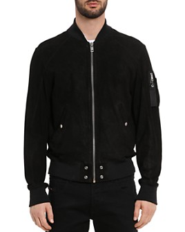 Diesel - Nikolai Nubuck Leather Jacket