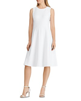 Ralph Lauren - Jersey Fit-and-Flare Dress