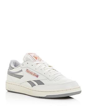 Reebok - Men's Club C Revenge Leather Low-Top Sneakers