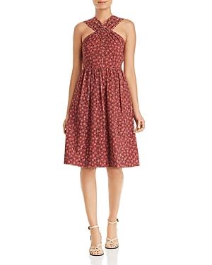 kate spade new york Floradoodle Printed Dress