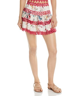 Charo Ruiz Ibiza - Floral Greta Mini Skirt