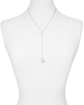 """Kendra Scott - Andi Cultured Freshwater Pearl Lariat Necklace, 18"""""""