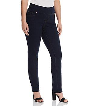 JAG Jeans Plus - Nora Skinny Jeans in Indigo