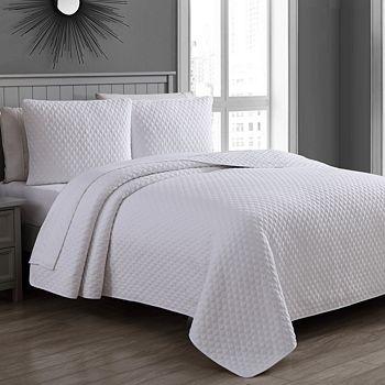 American Home Fashion - Estate Fenwick 2-Piece Quilt Set, Twin