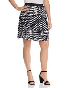 feffd7359b Estelle Plus Monroe Faux-Leather Skirt | Bloomingdale's