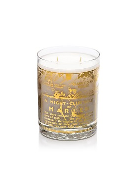 Harlem Candle Company - 22K Gold Nightclub Map of Harlem Savoy Luxury Candle