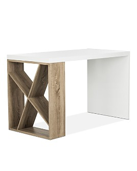 SAFAVIEH - Couture Carlene Modern Scandinavian Side Storage Desk