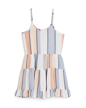 Vintage Havana - Girls' Striped Tiered Dress - Big Kid
