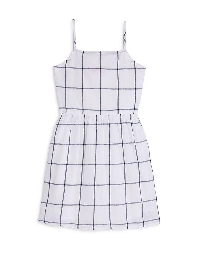 AQUA - Girls' Fit-and-Flare Plaid Dress, Big Kid - 100% Exclusive