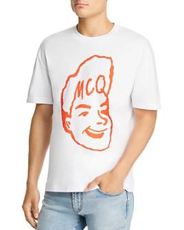 McQ Alexander McQueen - Drop-Shoulder Graphic Tee