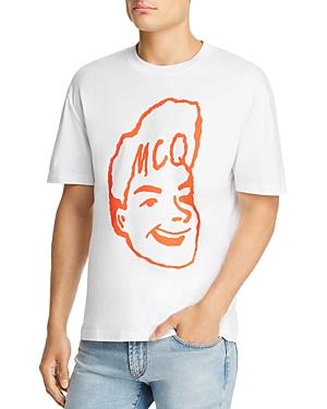 McQ Alexander McQueen Drop-Shoulder Graphic Tee