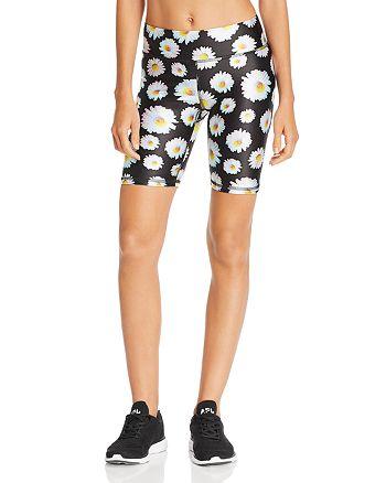 Terez - Daisy Print Bike Shorts