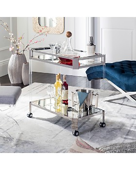 SAFAVIEH - Iago Acrylic Bar Trolley
