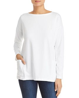 Eileen Fisher Petites - Patch-Pocket Top