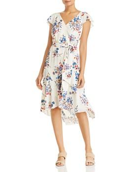 bcc070d57c12 Elie Tahari - Ryder Floral Faux-Wrap Dress - 100% Exclusive ...