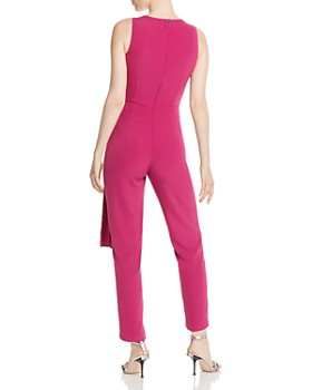 Donna Karan - Sleeveless Draped Jumpsuit