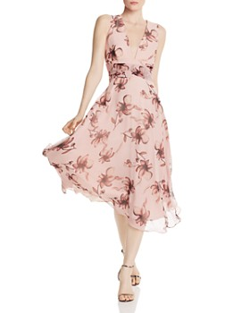 SAU LEE - Julia Floral Print Dress
