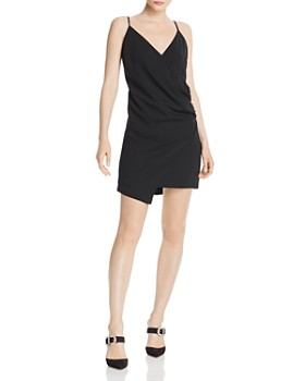 WAYF - Faye Faux-Wrap Dress