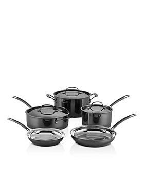 Cuisinart - Mica Shine Stainless 8-Piece Cookware Set