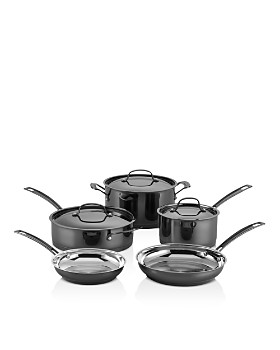 Cuisinart - Mica Shine Stainless 8-Piece Cookware Set