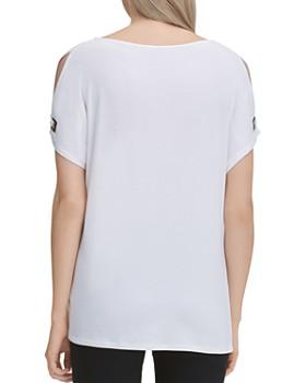 Calvin Klein - Slit-Sleeve Top