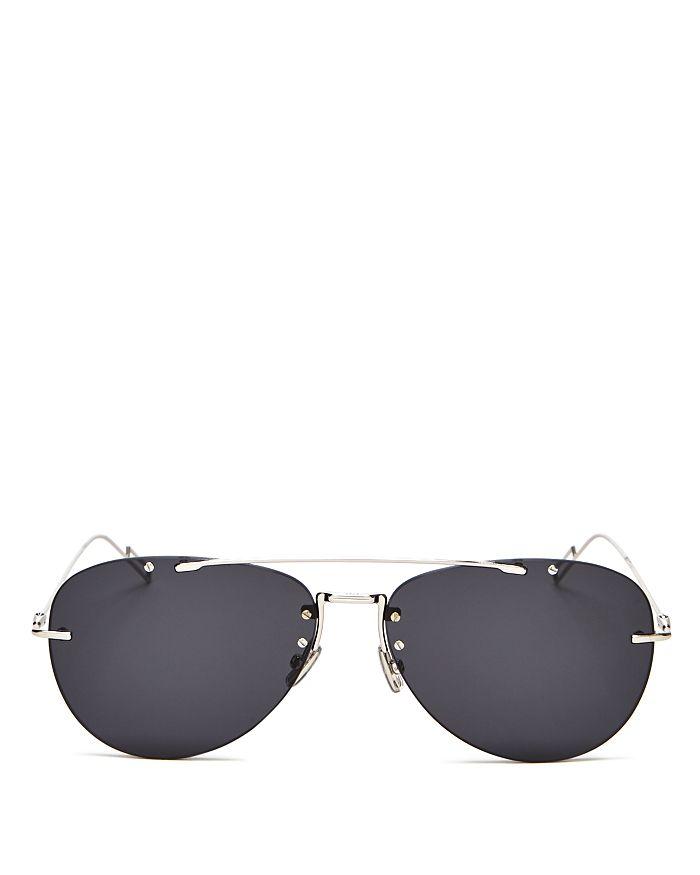 Dior - Men's Chroma Brow Bar Aviator Sunglasses, 62mm
