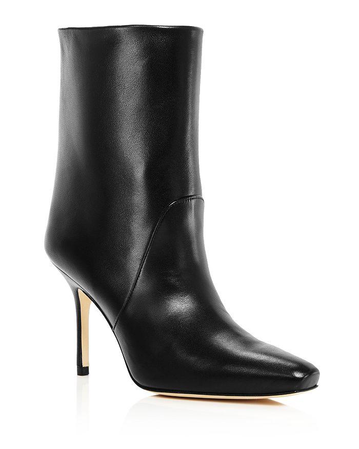 Stuart Weitzman - Women's Ebb Square-Toe High-Heel Boots