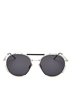 Dior - Men's Brow Bar Round Sunglasses, 54mm