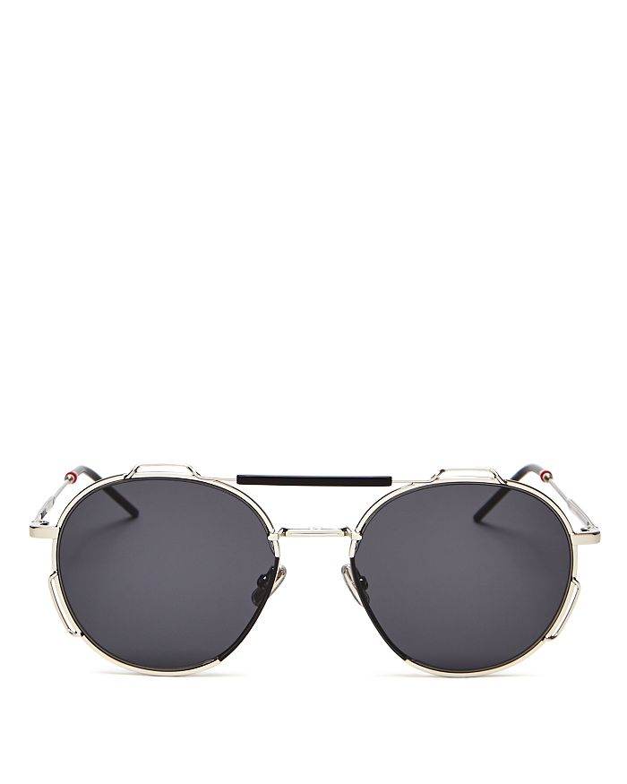 Dior - Men's Brow Bar Round Sunglasses, 54mm
