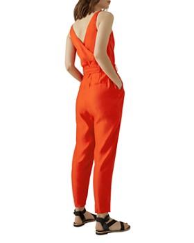 KAREN MILLEN - Crossover Belted Jumpsuit