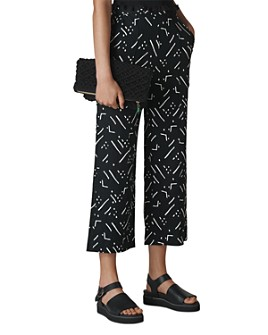 Whistles - Kuba-Printed Linen Pants