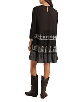 Velvet by Graham & Spencer - Arabella Embroidered Shift Dress