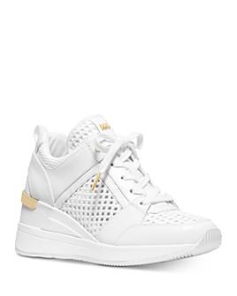 MICHAEL Michael Kors - Women's Georgie Leather & Mesh Chunky Sneakers