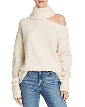 PAIGE - Raundi Cutout Wool-Blend Sweater