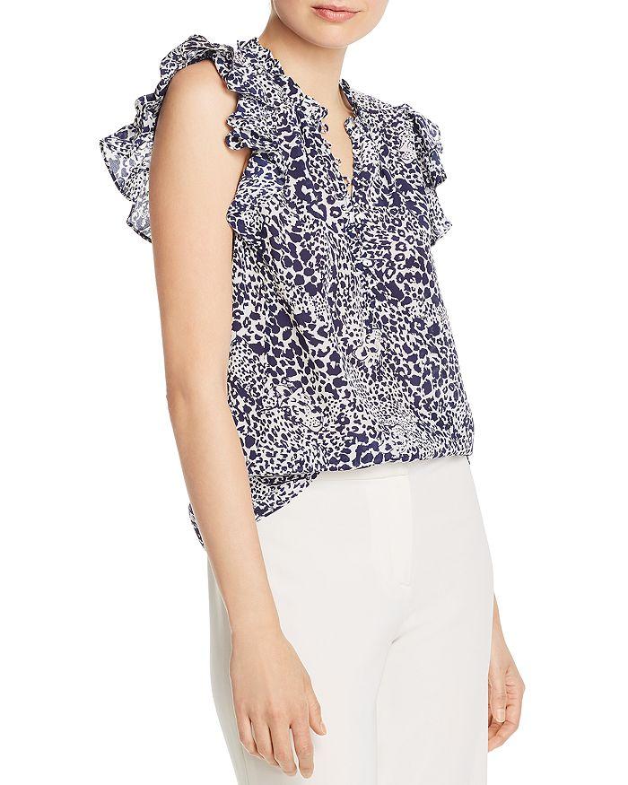 Rebecca Taylor - Leopard-Print Silk Top - 100% Exclusive