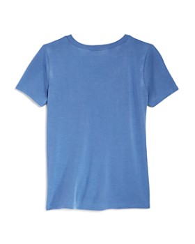 AQUA - Girls' Twist-Front Tee, Big Kid - 100% Exclusive