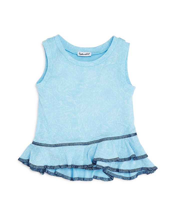 Splendid - Girls' Ruffled-Hem Tank - Baby