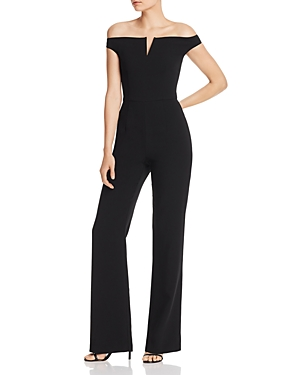 Black Halo Akiva Wide-Leg Jumpsuit